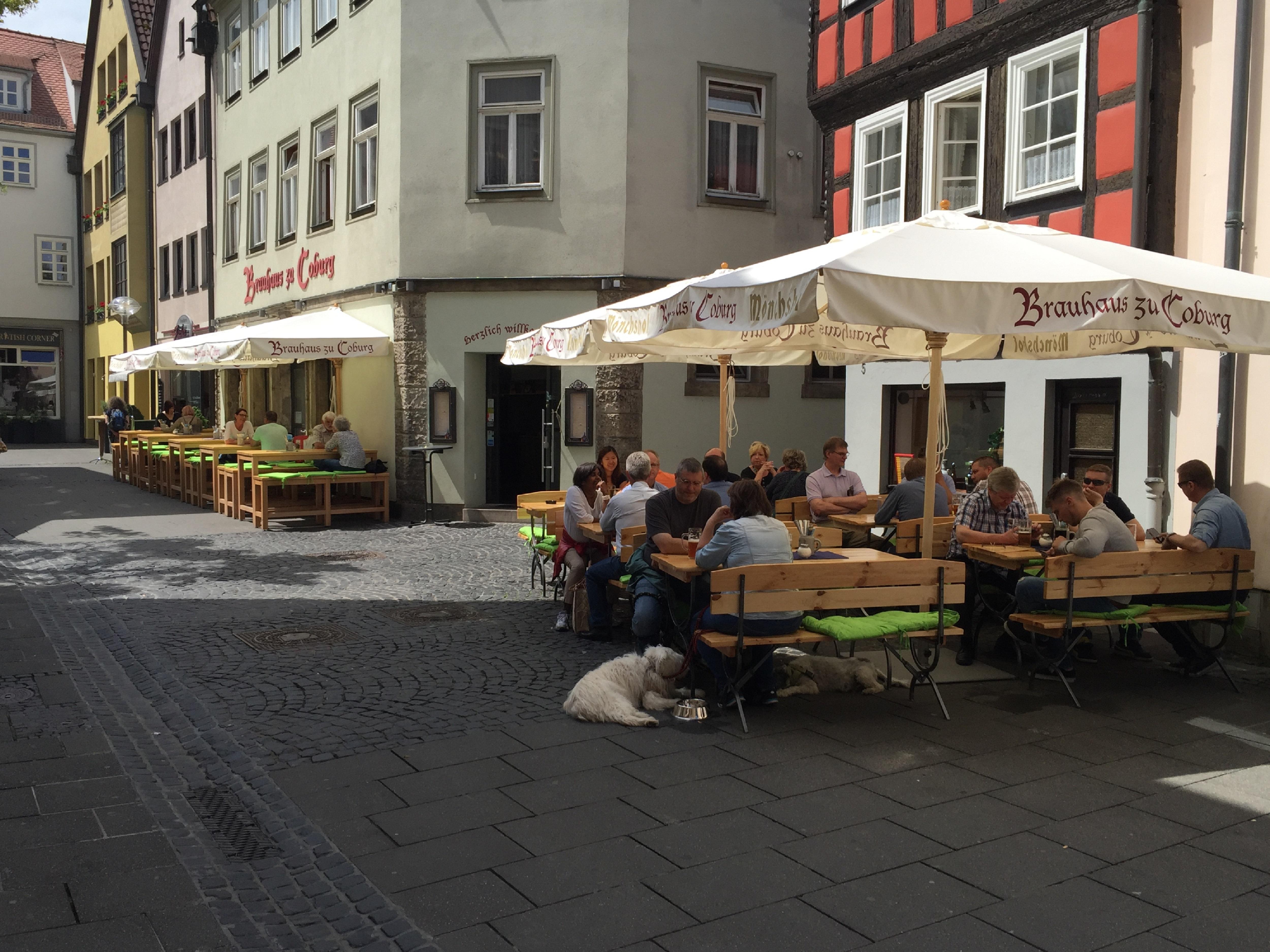 Brauhaus Coburg | Biergarten